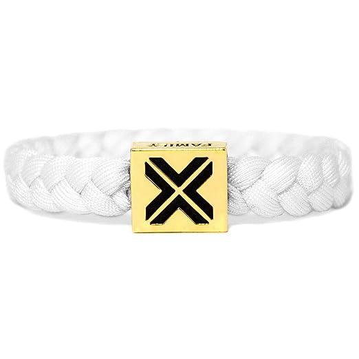 meilleures offres sur nouvelle version où acheter Amazon.com: ELECTRIC FAMILY Electric White on Gold Bracelet ...