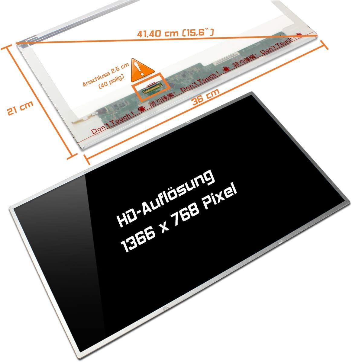N2 Laptiptop 15,6 LED Display Screen Glossy Ersatz f/ür LG Philips LP156WH4 TL HD Bildschirm Panel
