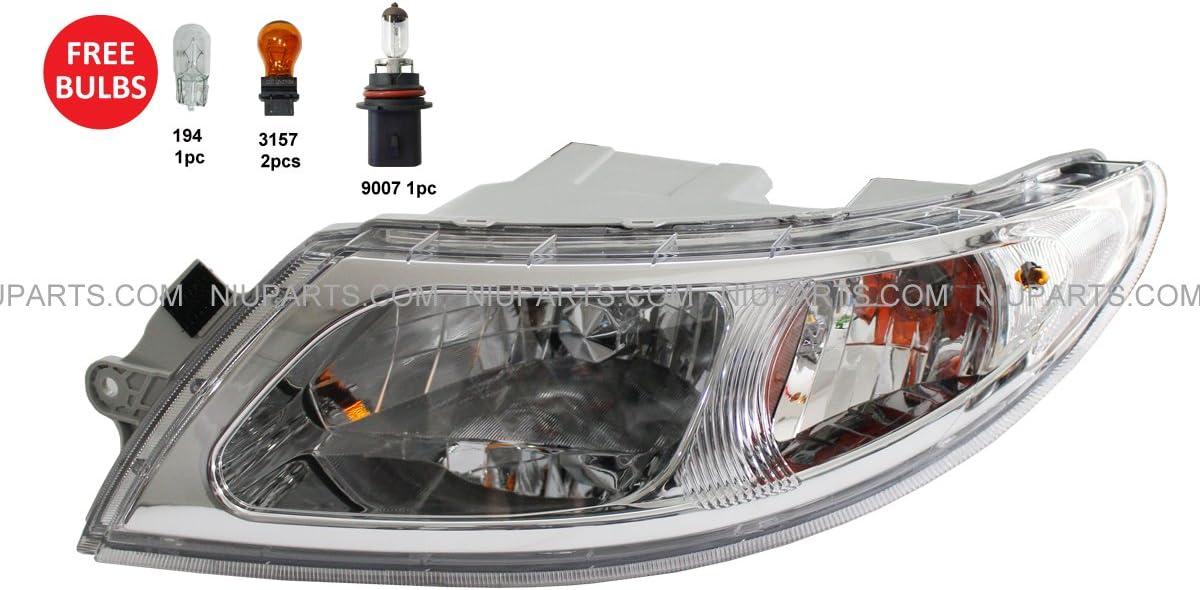 International 4000 4200 4300 4400 8600 Headlight Driver Side