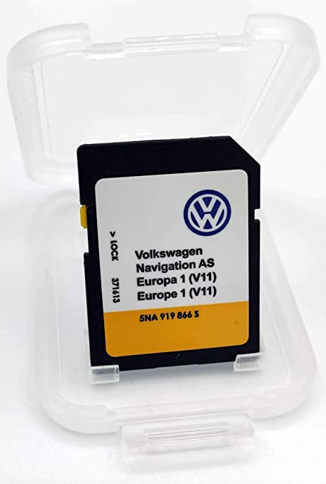 Tarjeta SD Update VW Navigation AS Europe 1 V11 MIB2 / Discover ...