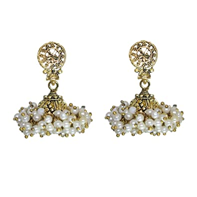 44a5f6eaa Buy ILA Gold Plated Earrings for Women Dual Tone Small Size | Trendy  Design, Skin Friendly & Premium Quality Online at Low Prices in India |  Amazon ...