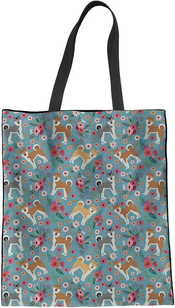 HUGS IDEA - Bolsa de hombro con estampado de flores para mujer