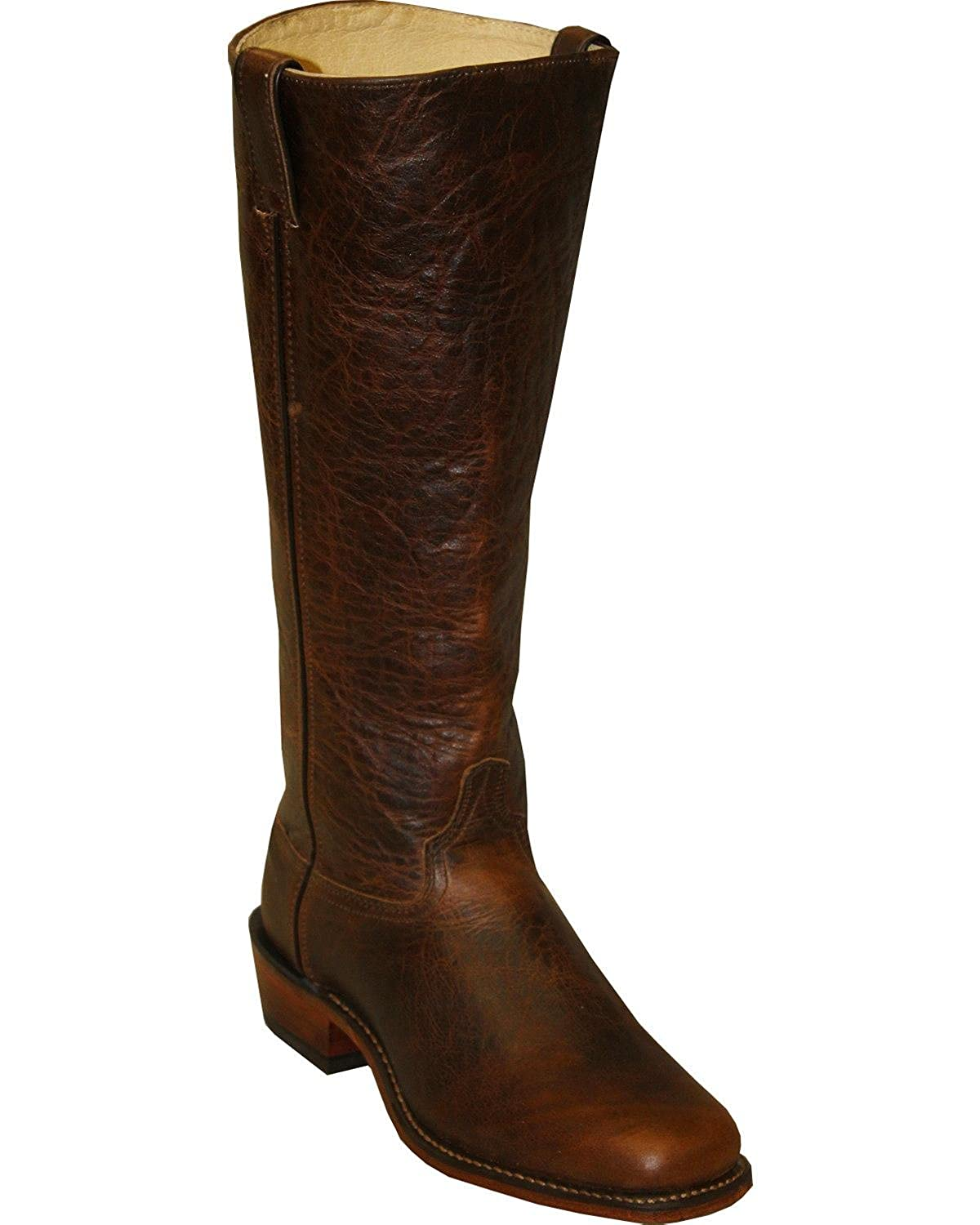 2fa89c92336 Abilene Men's Cowhide Shooter Boot Square Toe Brown 9 EE