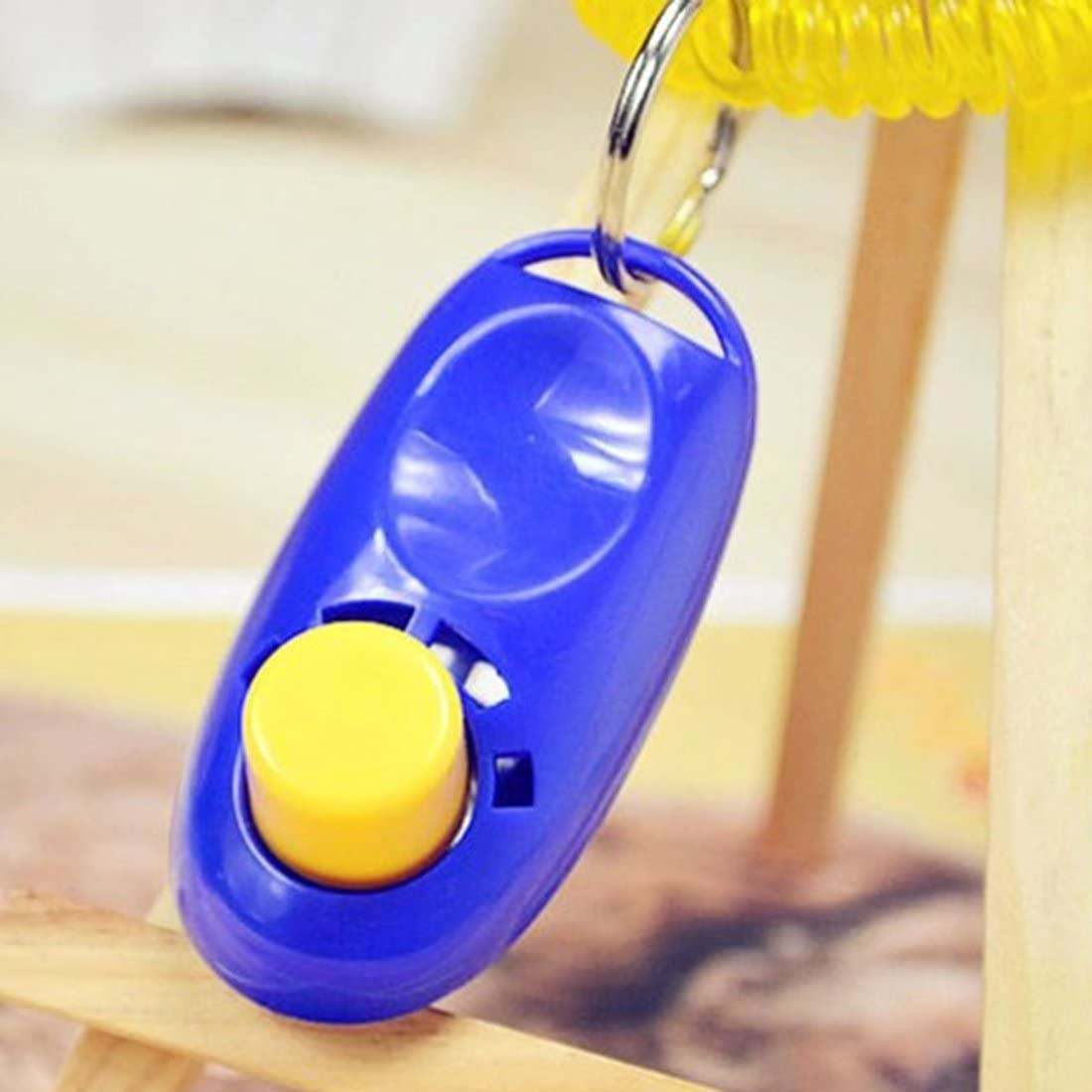 Animal Pet Training Clicker Obedience Aid Wrist Strap Light Weight Universal Mini Mini Convenient