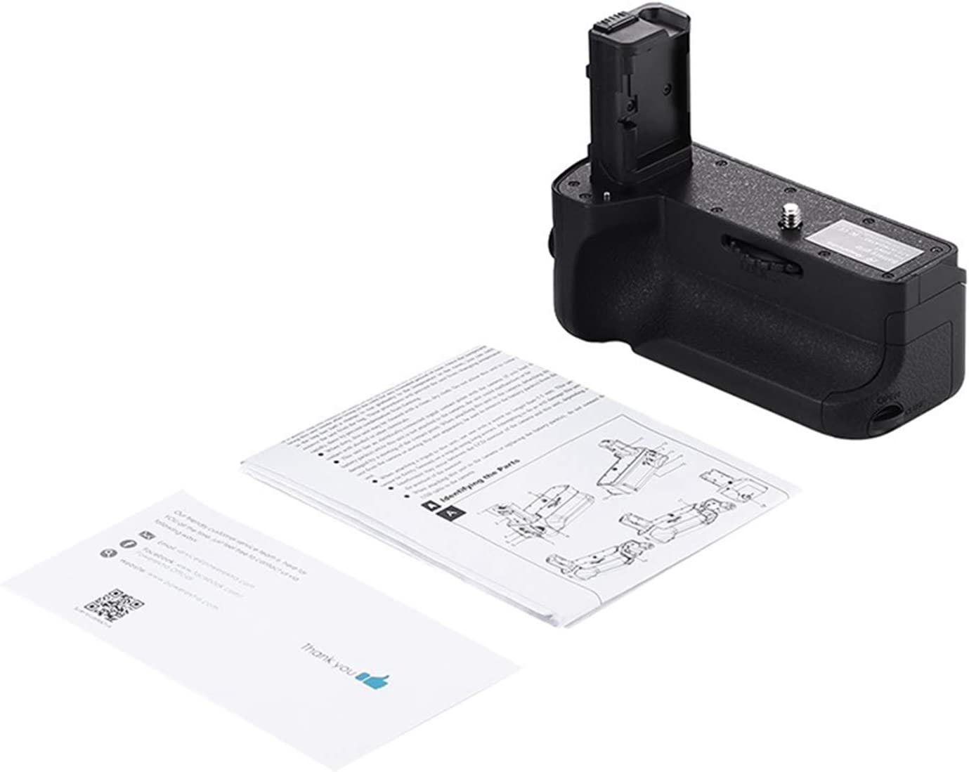 Noblik Vg-C2Em Battery Grip Replacement for Alpha A7Ii//A7S Ii//A7R Ii Digital SLR Camera Work with Np-Fw50 Battery
