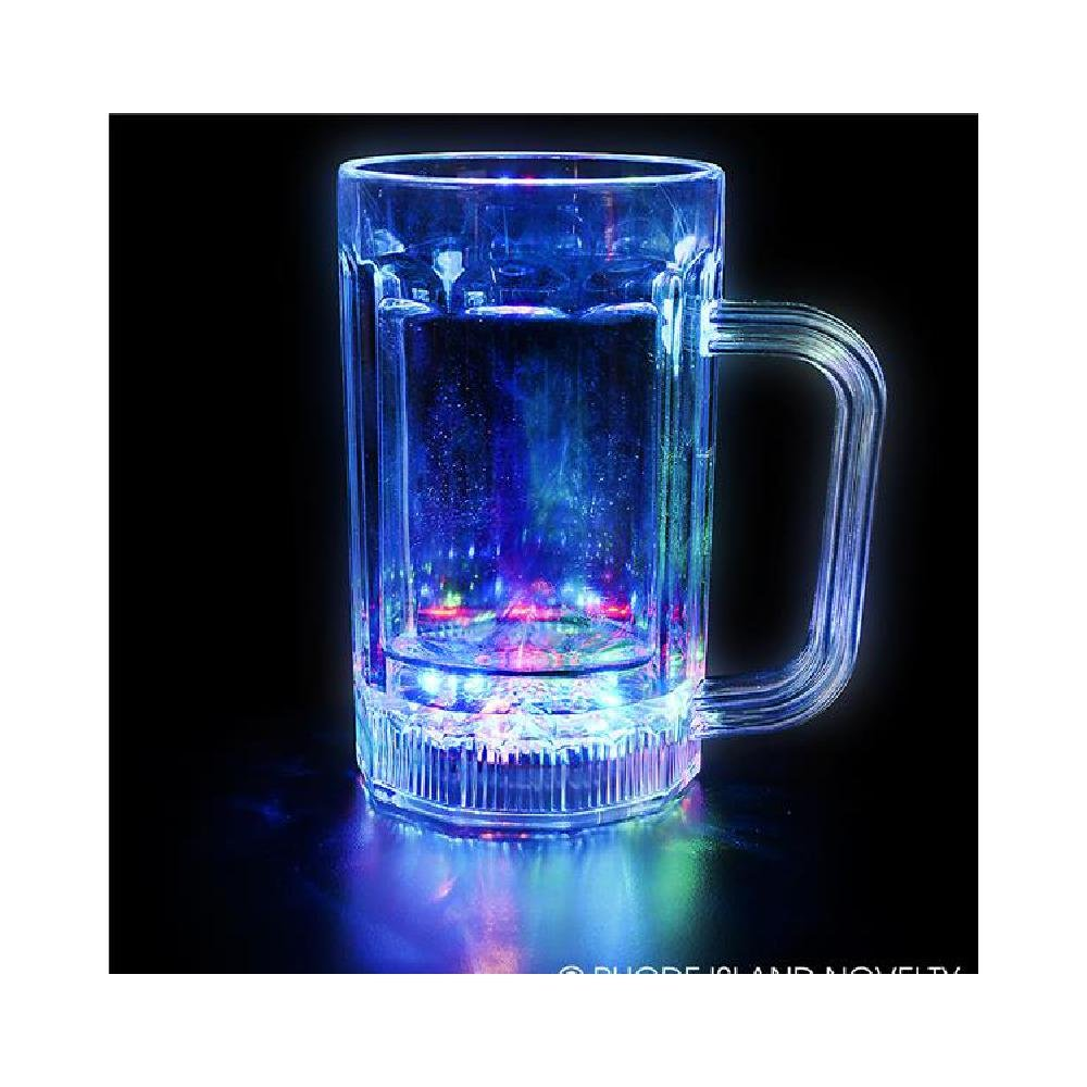 16Oz Multi Color Flashing Mug (With Sticky Notes)