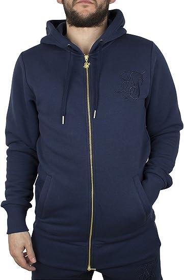 Sik Silk Hombre Zip estándar del Logotipo del chándal con Capucha ...