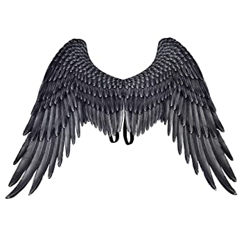 3D Angel Wings Halloween Theme Party Cosplay Costume Accessories For Adults