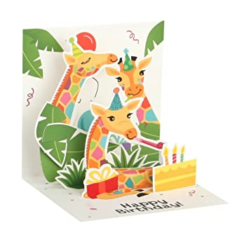 Pop Up Mini - Tarjeta de felicitación de cumpleaños 3d pop ...