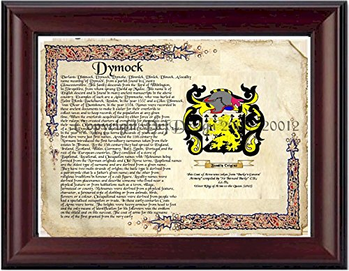 dymock-coat-of-arms-family-crest-on-fine-paper-and-family-history