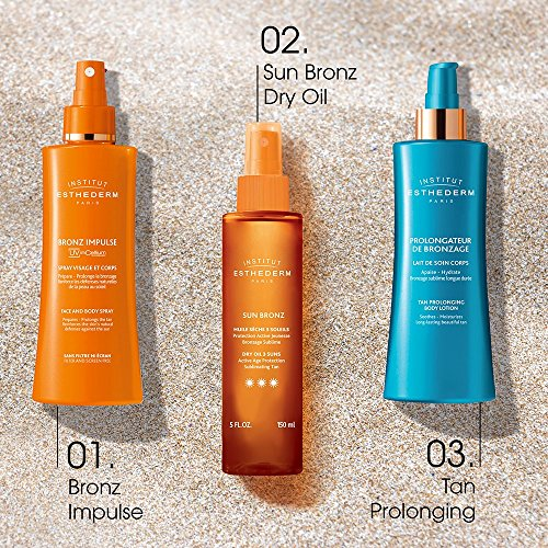 Institut Esthederm Sun Bronz 3 Suns, dry body oil with suncare protection for a faster and intense tan, normal skin - 4.23oz by Institut Esthederm (Image #4)