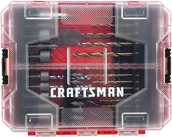 60 Pieces Craftsman CMAF1260 Drill Bit Set