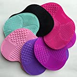 Silicone Makeup Brush Cleaning Cosmetic Make Up Washing Brush Cleaner Scrubber Foundation Makeup Cleaning Mat Pad Tool 500Pcs