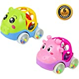 ZHFUYS Baby Toy Cars,3 to 24 Months old Boys And Girls Rattle Toys 2 PACK