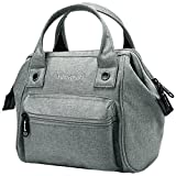 Himawari Women's Soft Top Handle Bag Tote Bags With Canvas Handbags Backpack (SY Gray)