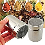 Fencia Stainless Chocolate Fine Mesh Sifter Shaker Dredge Icing Sugar Powder Cocoa Flour Coffee Sifter