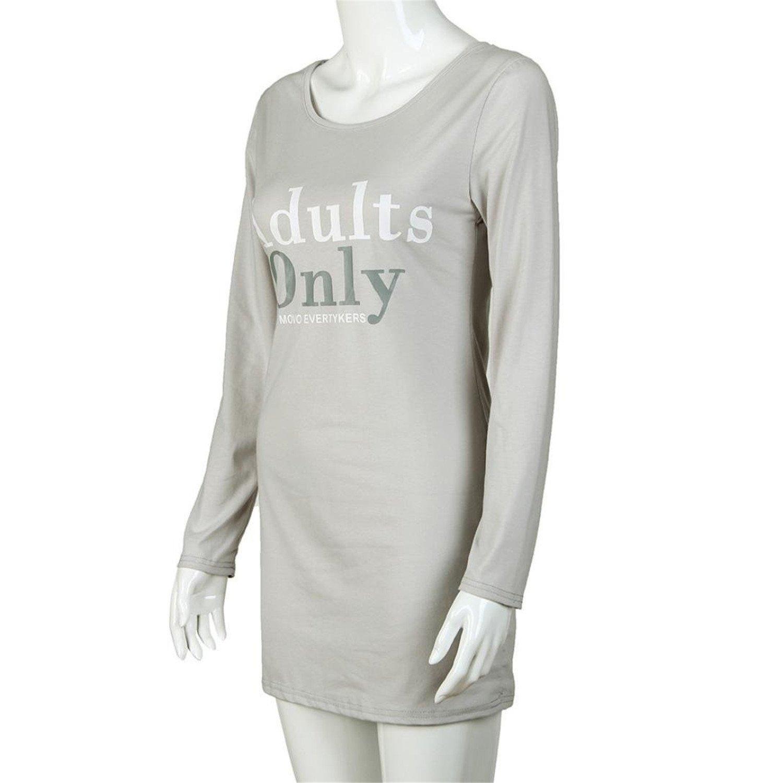 Doris Batchelor Elegant Women Mini Sports Dress Letter Print Long Sleeve Evening Party Club Skirts