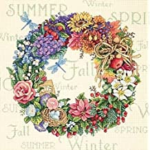 Dimensions Needlecrafts Counted Cross Stitch, Wreath Of All Seasons