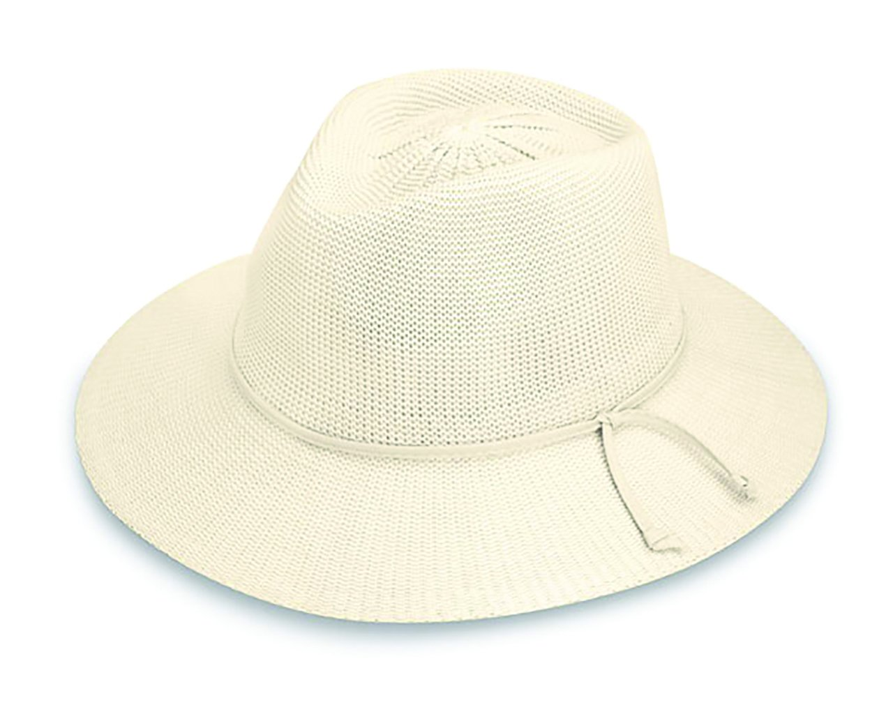 75b0183433bc6 Wallaroo Hat Company Women s Victoria Fedora Sun Hat - Natural - UPF ...