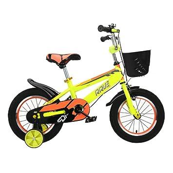 QXMEI Bicicleta Infantil con Estructura De Acero con Alto Contenido De Carbono 2-3-