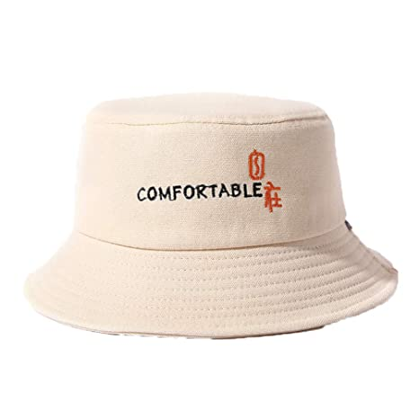 3c0a692c579 STaemin Spring and Summer Hip hop Street Personality Basin hat Cotton and  Linen Canvas hat