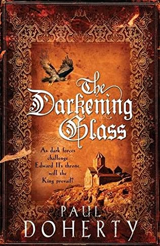 book cover of The Darkening Glass