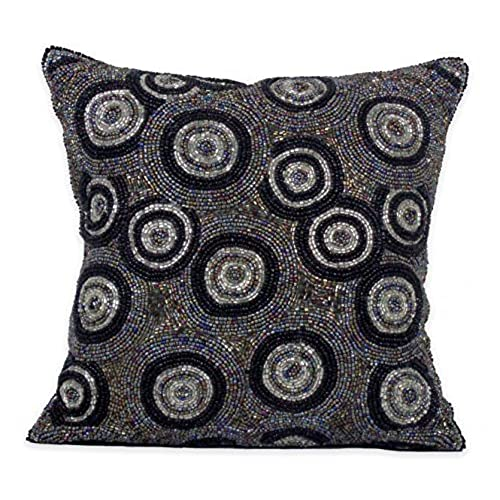 Decorative Pillows For Sofa With Circles Amazon Classy Decorative Pillows With Circles