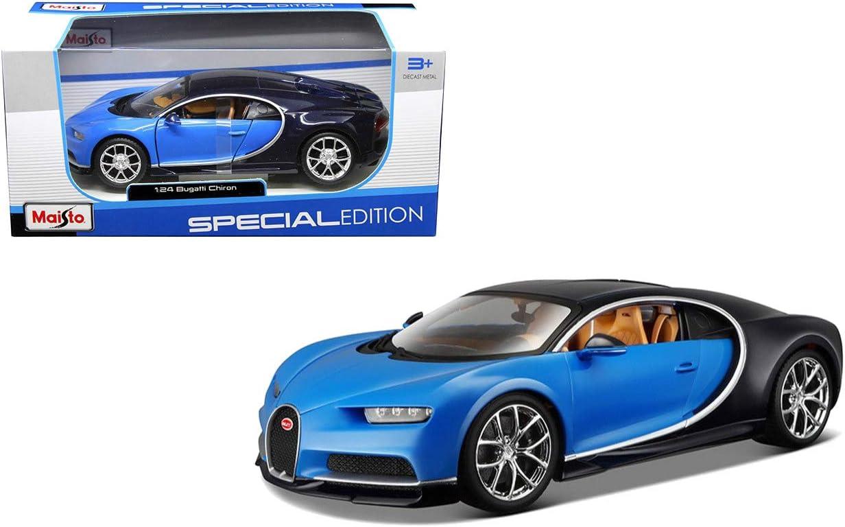 Amazon Com Maisto 1 24 W B Special Edition Bugatti Chiron Die Cast Vehicle Toys Games