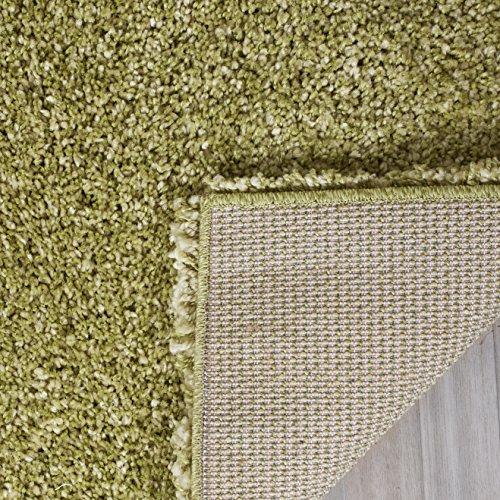 "Safavieh California Shag Collection SG151-5252 Green Area Rug (5'3"" x 7'6"")"