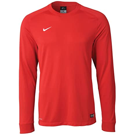 9349e3895 Amazon.com   Nike Long Sleeve Park Goalie II Jersey (Red) (M)   Soccer  Jerseys   Clothing