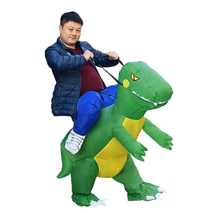 SHENGSHIHUIZHONG Dinosa Inflable, Dinosaurios Desmontables ...