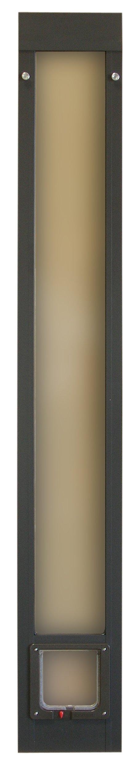 Ideal Pet Products Fast Fit Cat Flap Patio Door for Pets, Bronze
