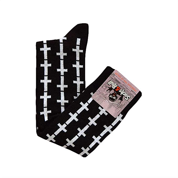Sock&Roll - Calcetín largo de algodón elástico, talla única 36/41 ...
