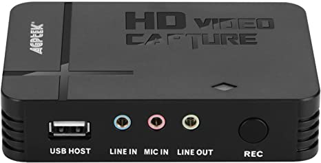HD Game Video Capture 1080P HDMI//YPBPR Recorder for Xbox 360 One Live//PS3 PS4