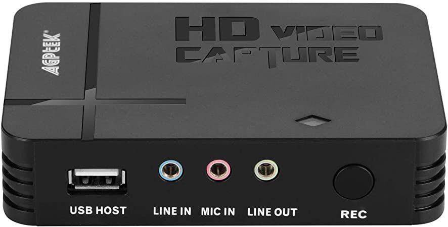 AGPTEK Game Capture HD - Capturadora para Grabar, Compartir y ...