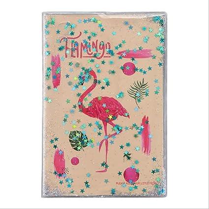YNIME Lindo PVC Lentejuelas Cubrir Flamingo Unicornio ...