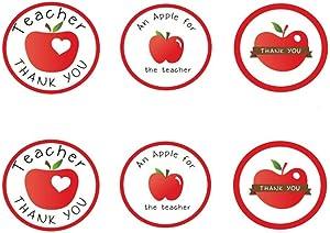 Thank You Teacher Sticker,MeshaKippa 120pcs 1.5
