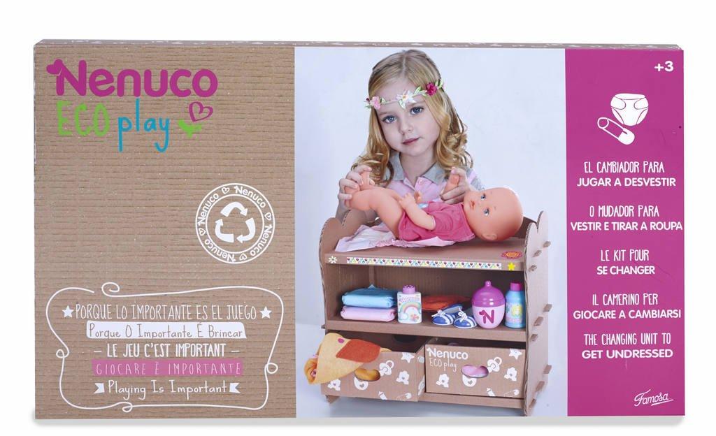 Amazon.es: Nenuco - Cambiador Eco Play (Famosa 700012120): Juguetes y juegos
