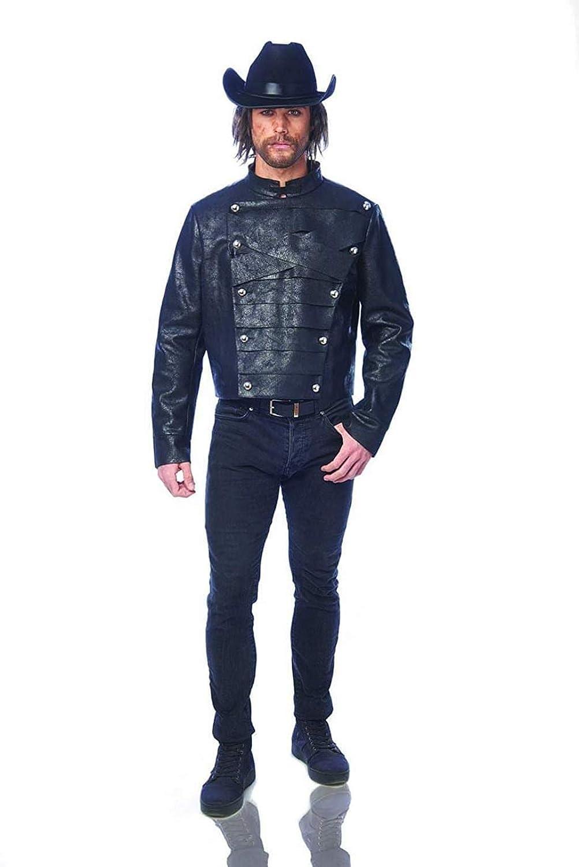 Renegade Adult Costume Jacket | Black | Standard: Amazon.es ...