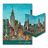 325pk Manhattan Cityscape - American Artist - Roxie Munro-American Artists