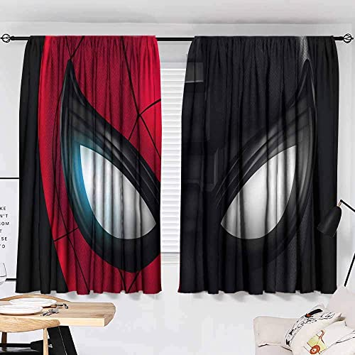 Spiderman far from Home Customized Curtains