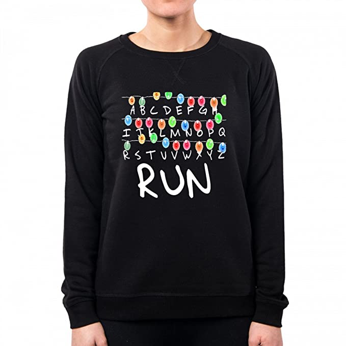 PacDesign Sudadera Mujer Stranger Things Serie TV Show Series Et Anni 80 80s Pd0007a: Amazon.es: Ropa y accesorios