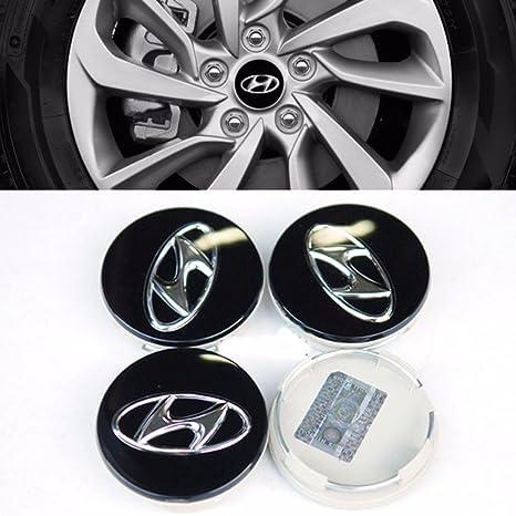 Centro de rueda Hub Cap Set 4 piezas para Hyundai Tucson 2010 – 2015 Sonata OEM