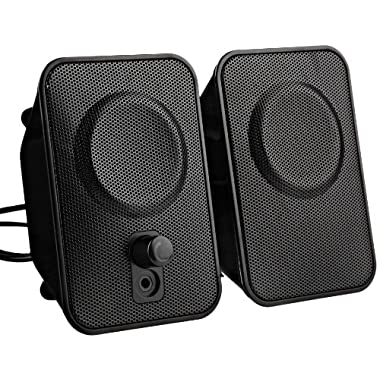 AmazonBasics AC Powered Computer Speakers (A150)