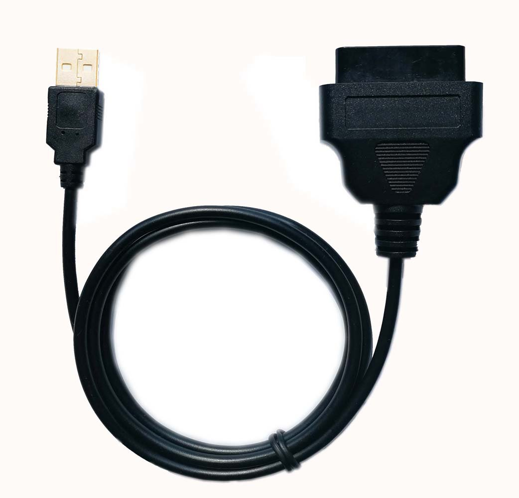 Gooldee OBD2 Female to USB for Mobley & WIFI hotspot Adapter, 3.3ft OBD2 Car Diagnostic Cable