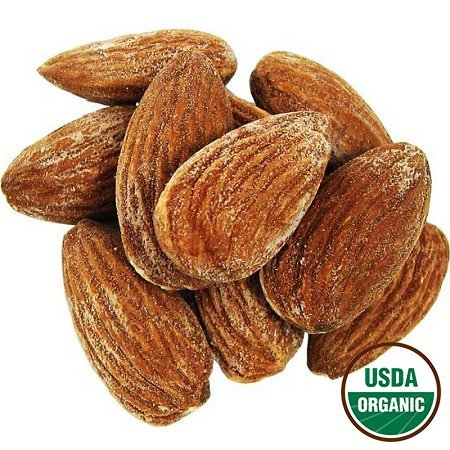 organic almonds roasted salted - 3