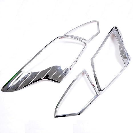 Auto accesorios lámpara de luz trasera Bisel embellecedor de cubierta trasera para Ford Focus 3 2012