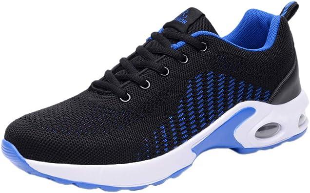 Zapatillas Running Hombre Fondo Plano Outdoor Calzado Asfalto ...