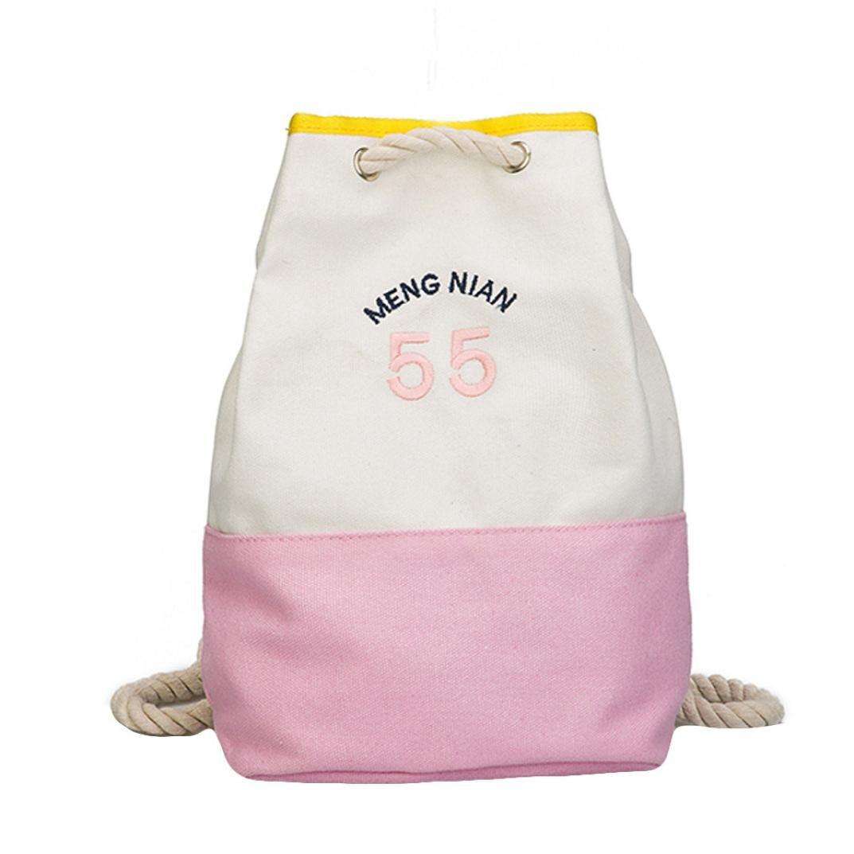 4058440b79d Amazon.com  Fshion Girl Letter Canvas Mini School Bag,Women Boy Kids  Backpack Shoulder Leisure Bag Supplies (Pink)  Home Audio   Theater