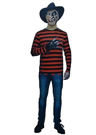 Killer Freddy Krueger Style Boys Fancy Dress Costume Age 10-12 Years  sc 1 st  Amazon UK & Killer Freddy Krueger Style Boys Fancy Dress Costume Age 10-12 Years ...